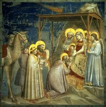 Adoration of the Magi, c.1305 by Giotto di Bondone