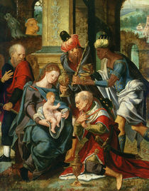 The Adoration of the Magi, 1530 von Master of the Prodigal Son
