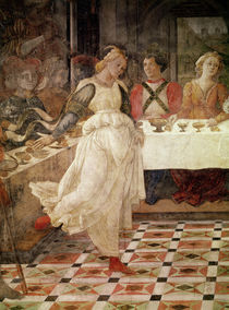 Salome dancing at the Feast of Herod by Fra Filippo Lippi