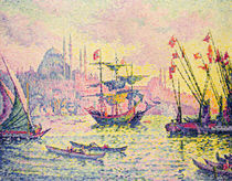 View of Constantinople, 1907 by Paul Signac