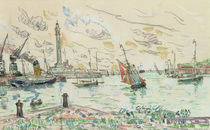Dunkirk, 1930 by Paul Signac