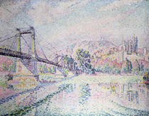 The Bridge, 1928 by Paul Signac
