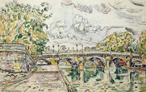 The Pont Neuf, Paris, 1927 by Paul Signac