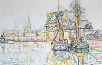 The 'Emerald Coast', St. Malo by Paul Signac