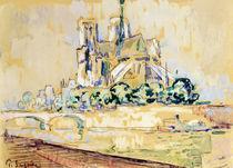Notre Dame, 1885 by Paul Signac