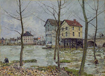 The Mills at Moret-sur-Loing by Alfred Sisley