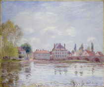 The Bridge at Moret-sur-Loing von Alfred Sisley
