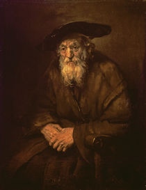 Portrait of an Old Jew von Rembrandt Harmenszoon van Rijn