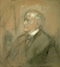 Portrait of Richard Wagner 1868 by Franz Seraph von Lenbach