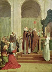The Mass of St. Martin of Tours by Eustache Le Sueur