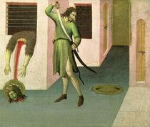 The Beheading of St. John the Baptist by Sano di, also Ansano di Pietro di Mencio Pietro