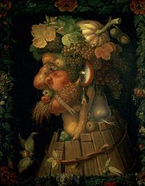 Autumn, from a series depicting the four seasons von Giuseppe Arcimboldo