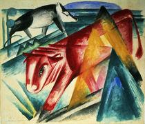 Animals, 1913 von Franz Marc