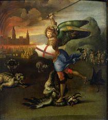 St. Michael, c.1503-05 by Raphael