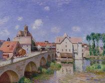 The Bridge at Moret, 1893 von Alfred Sisley