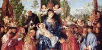 The Feast of the Rose Garlands by Albrecht Dürer
