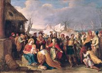 The Adoration of the Magi von Frans II the Younger Francken