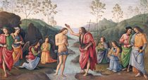 The Baptism of Christ, from the Convent of San Pietro by Pietro Perugino