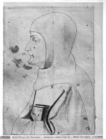 Monk, from the The Vallardi Album by Antonio Pisanello