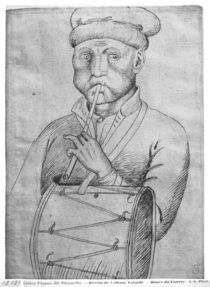 Musician, from the The Vallardi Album von Antonio Pisanello