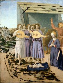 Nativity, 1470-75 von Piero della Francesca