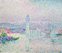 The Lighthouse at Antibes, 1909 by Paul Signac