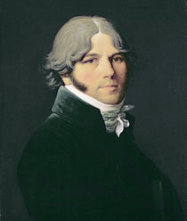 Portrait of the Artist's Father by Jean Auguste Dominique Ingres