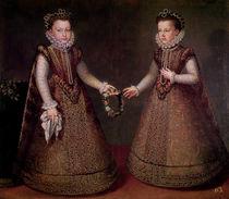 The Infantas Isabella Clara Eugenia by Alonso Sanchez Coello
