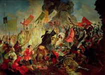 King Stephan IV Batory besieging Pskov in 1581 by Karl Pavlovich Bryullov