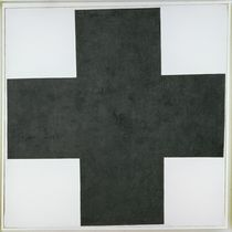 Black Cross, c.1923 by Kazimir Severinovich Malevich