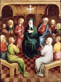 Pentecost, 1450 by German School