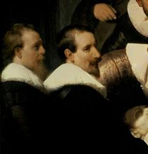 The Anatomy Lesson of Dr. Nicolaes Tulp by Rembrandt Harmenszoon van Rijn