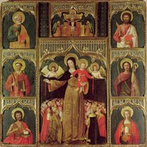 Altarpiece of the Virgin of the Rosary by Ludovico Brea
