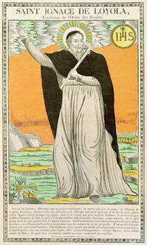 St. Ignatius of Loyola by French School