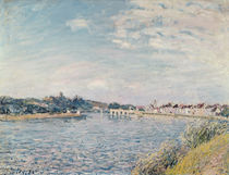 Landscape, 1888 by Alfred Sisley