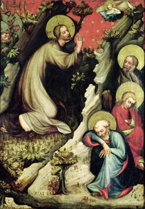 Jesus in the Garden of Gethsemane by Master of the Trebon Altarpiece