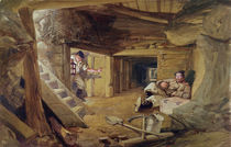 Mine in the Bastion du Mat by William 'Crimea' Simpson