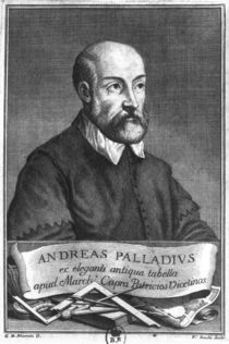 Andrea Palladio engraved by Francesco II Zucchi by Giovanni Battista Marioti