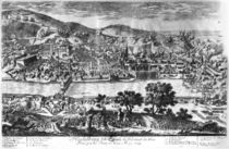 The taking of Heidelberg on 22th May 1693 by Pierre Aveline