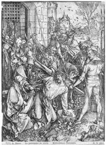 The carrying of the cross by Albrecht Dürer