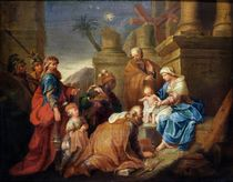 Adoration of the Magi von Jacques Stella