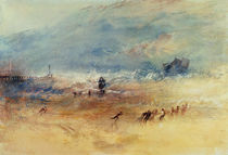 Yarmouth Sands, c.1840 by Joseph Mallord William Turner
