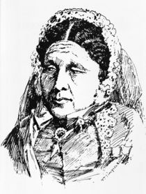 Portrait of Mary Seacole by William 'Crimea' Simpson