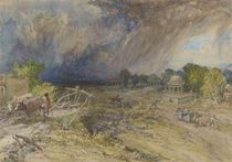 Dust Storm Coming on, near Jaipur Rajputana by William 'Crimea' Simpson