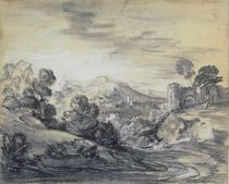 Wooded Landscape with Castle