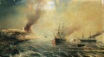 Bombardment of Sale, 26th November 1851 by Jean Antoine Theodore Gudin