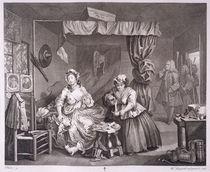 A Harlot's Progress, plate III by William Hogarth