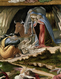 Mystic Nativity, 1500 by Sandro Botticelli