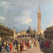 Piazza San Marco, Venice, c.1760 by Francesco Guardi