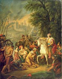 Tsar Ivan IV Conquering Kazan in 1552 von Grigoriy Ivanovich Ugryumov